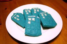TARDIS cookies!!!