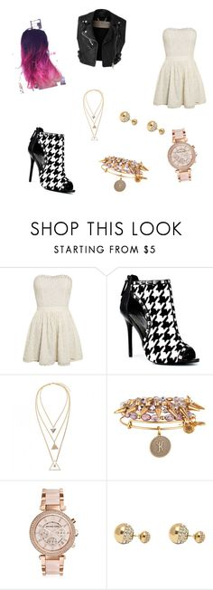 """""""Love it fashion!♥"""" by luuhramos ❤ liked on Polyvore featuring Superdry, Burberry, Bebe, Alex and Ani, Michael Kors and Adele Marie"""