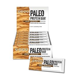 New! Paleo Protein Bar®: SunflowerButter : Soft, Creamy, (Taste Like Peanut Butter : Nut Free) 150 Calorie, 20g Egg White, Gluten/Soy/GMO Free Vegetarian Bar w/Organic Prebiotics & 1g Sugar (Naturally Occurring) Sweetened w/Monk Fruit (Only 4 Ingredients) Money Back Guarantee & Free Shipping! www.PaleoBar.com