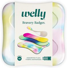 Welly's tie-dye bandages are perfect for summer camp and make a practical care package gift | Cool Mom Picks #carepackageideas #giftsforkids #summercamp #campgifts #giftsfortweens #giftsforteens Tween Gifts, Gifts For Teens, Camp Care Packages, Best Summer Camps, Cool Mom Picks, Cool Gifts For Kids, Camping Gifts, Tie Dye Patterns, Band Aid