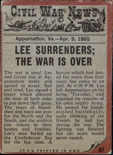 CIVIL WAR ENDS - April 9, 1865*** http://www.amazon.com/TALES-WEST-BARBERS-SAN-JOAQUIN-ebook/dp/B00PF6SIW6/