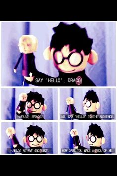 Potter Puppet Pals. I've watched this so many times I can hear it