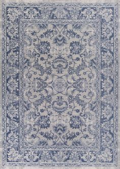 Kas Oriental Rugs Retreat 0107 Slate Blue