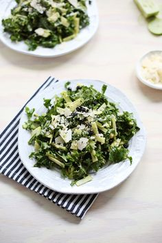 Creamy Apple and Kale Salad
