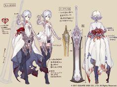SinoAlice hat viele Pre-Registrierungen und neue Artworks veröffentlicht   Final Fantasy Dojo