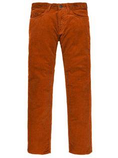 5-Pocket Cordhose von TOMMY HILFIGER - gibt´s bei HIRMER #fw #cord #men #colours