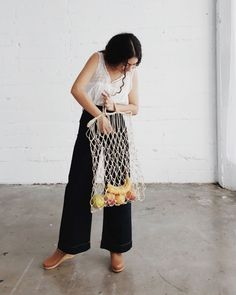 these totes are hand-woven by a mother and her daughter in Chile 🌾 perfect for books, the beach and the market 🍋🍊available online now, along with more sweet new arrivals ✨  via ✨ @padgram ✨(http://dl.padgram.com)