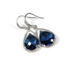 Mabel Bridal Earrings Bridesmaid by GlitzAndLove