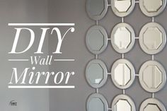 A collection of beautiful wall decor inspirations and DIY art. See more ideas about Affordable home decor, Bricolage and Diy ideas for home. Diy Wand, Mirror Makeover, Diy Mirror, Entryway Mirror, Mirror House, Sunburst Mirror, Mirror Ideas, Window Ideas, Warm Home Decor
