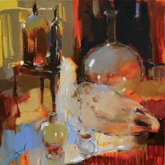 "Saatchi Art Artist Iryna Yermolova; Painting, ""Guy from the charity shop"" #art"