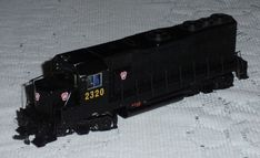 BACHMANN HO SCALE #11511 GP35 PENNSYLVANIA 2320 Locomotive Train In Black  #Bachmann Train Sets For Sale, Ho Scale, Model Trains, Locomotive, Pennsylvania, Ebay, Black, Black People, Locs