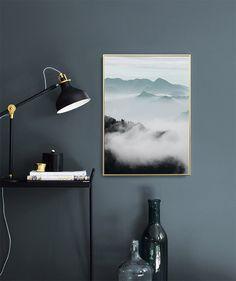 Cloud Mountains, plakat i gruppen Plakater / Fotokunst hos Desenio AB (8541)