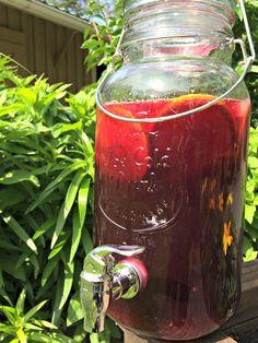 Sangria, Portobello, Alcoholic Drinks, Wine, Vegetables, Glass, Drinkware, Corning Glass, Liquor Drinks