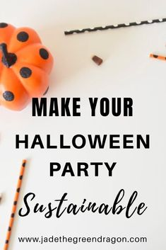 Make your Halloween party epic and responsible this year with this sustainable Halloween party guide. Everything you need to know about throwing an eco-friendly Halloween party. Halloween This Year, Halloween Party Decor, Halloween Costumes, Green Business, Green Dragon, Halloween Activities, Party Shop, Fall Crafts, Holiday Fun