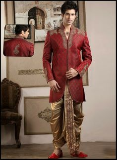 Usama Sherwani Designs 2013-2014 For Men