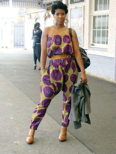 afrikanischer druck love is near: [Doris and Doris] African Print Jumpsuit, African Print Dresses, African Dresses For Women, African Wear, African Attire, African Women, African Style, African Prints, Ankara Jumpsuit