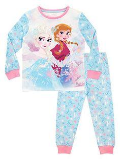 5f4b6776a5bd9 Disney - Ensemble De Pyjamas - La Reine des neiges - Fille - Frozen