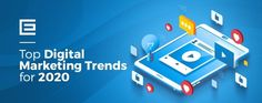 Top 5 Digital Marketing Trends to Consider for 2020 Marketers from a number one apps company launched their extremely no-hit influencer selling campaign Role Of Digital Marketing, Digital Marketing Plan Template, Top Digital Marketing Companies, Digital Marketing Trends, Marketing Tactics, Online Marketing, Marketing Logo, Online Advertising, Marketing Strategies