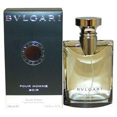Bvlgari Pour Homme Soir by Bvlgari Eau de Toilette Men's Spray Cologne - 3.4 fl oz
