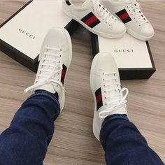 sneakers and stuff returns Gucci Sneakers Outfit, Gucci Shoes, Sneakers Nike, Gucci Outfits, Bape, Gucci Fashion, Mens Fashion, Baskets, Gucci Gifts