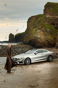 Tilda Swinton in Mercedes Benz spring/summer 2015 fashion film. Styled by Haider Ackermann. [Source - Vogue UK]