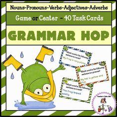 Teacher's Take-Out: Freebie! Grammar - Roll a Sentence