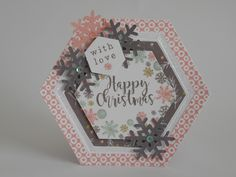 Card made by Phillipa Lewis using Craftwork Cards Peppermint Forest Collection.