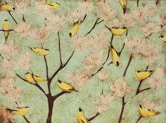 Blossom and Finches Joseph Bradley