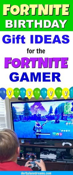 The Best Fortnite Gift Ideas for Kids, Gamers, and the Fortnite Obsessed. The Ultimate Fortnite Epic Games' Party and Gift Ideas for the Fortnite Obsessed and Video Game Obsessed friends and family in your life! Great Fortnite birthday present ideas for kids, for boys, for girls, for gamers, and anyone. #Fortnite #FortniteBR #FortniteSeason7 #Season7 #videogames #gamer #gamers #fortnitememes #ps #pubg #xbox #twitch #youtube #pc #game #cool #instagood #fortnitebattleroyale #fortniteclips