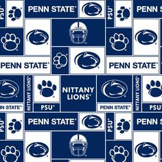 Pennsylvania State University | Pennsylvania State University Fabric Super Soft Collegiate Classic ...