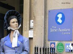 Entrando en el Jane Austen Centre de #Bath
