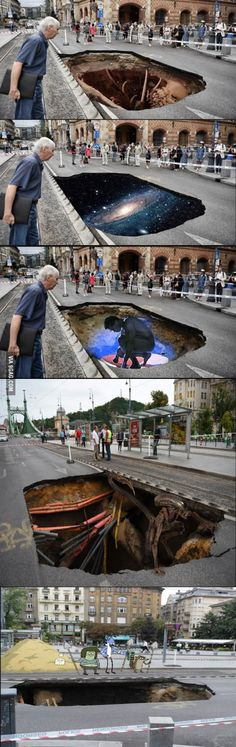 Meanwhile in Hungary, Budapest.