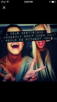 Dear Bestfriend...