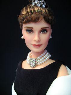 Audrey Hepburn OOAK doll by Narae.