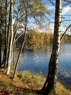 Lake Suolijärvi in Tampere, Finland