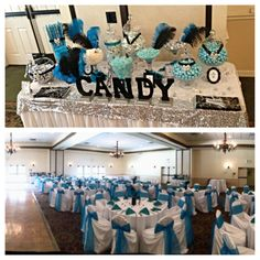 Quienceanera 7.10.13 at Mission Valley Resort. Beautiful candy table