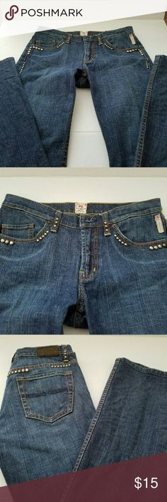 Express X2 denim laboratory jeans Good condition, bootcut size 4 women jeans Express Jeans Boot Cut