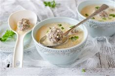 Warm, comforting, and protein-packed, this hearty Italian Wedding soup is just what you want on a cold winter's day or night with a side of homemade bread. Greek Recipes, Soup Recipes, Cooking Recipes, Recipies, Keto Soup, Vegan Soup, Italian Wedding Soup Recipe, How To Cook Meatballs, Corn Soup