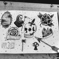 Old School Drawing