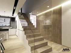 House Stairs, Interior Inspiration, Living Room Decor, Interior Design, Modern, Home Decor, Kitchens, Author, House