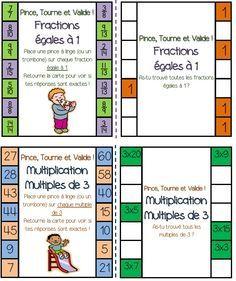 Watercolor Wash with Splattered Accents Math 5, Math Multiplication, Math Games, Teaching Math, Math School, School Games, Formation Continue, 12th Maths, Montessori Math