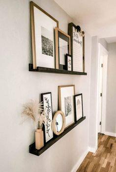 Home Decor Ideas, Diy Ideas, Home Living Room, Living Room On A Budget, Living Room Modern, Living Room Decor Simple, How To Decorate Living Room Walls, Loving Room Decor, Living Room Designs