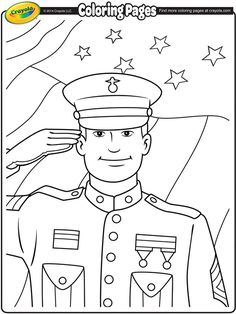 veterans day coloring page - Veterans Day Coloring Pages