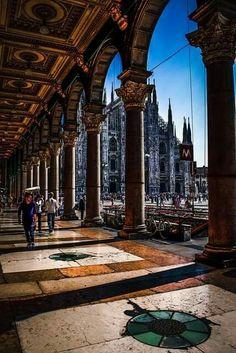 Italy!  Milan.