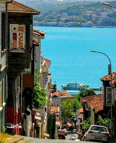 Turkey Photos, City Life, Travel Photos, Mansions, Street, House Styles, World, Places, Nature