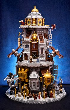 Scroll2Lol.com - Gorgeous LEGO building from Bioshock Infinite