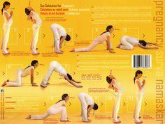 Prenatal-yoga Sun-Salutation - Salutation au soleil modifiée pour femme enceinte ou pour personne ronde