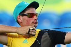 Day 1: Archery Men's Team - Alex Potts of Australia