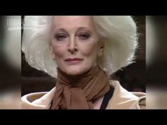 Fashion Icon & Living Legend Carmen Dell Orefice:  Ageless Beauty at 85 Years - YouTube