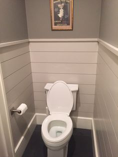 shiplap half bath - Google Search
